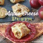 Apple Cheese Puffs