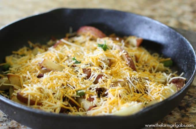 Loaded Skillet Potatoes- Feature 1