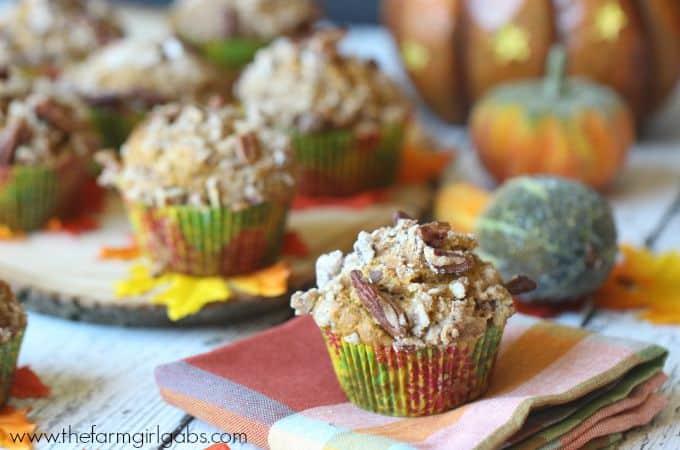 Pumpkin Pecan Crunch Muffins - Feature 2