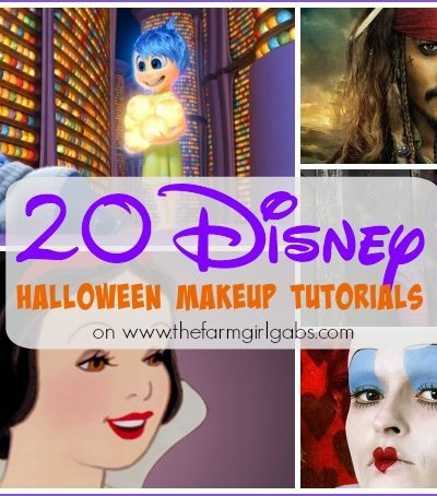 20 Disney Halloween Makeup Tutorials