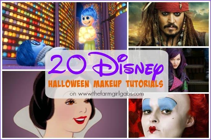 20 Disney Makeup Tutorials