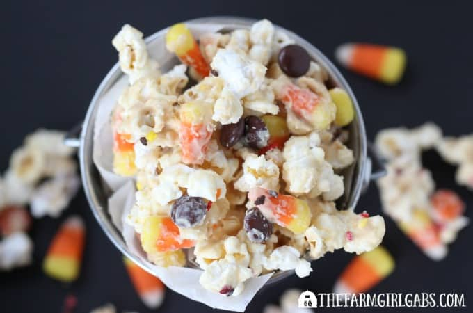 Candy Corn Popcorn - Feature 2
