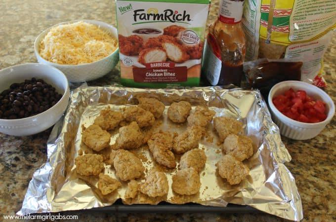 Cowboy Barbecue Chicken Nachos - Ingredients