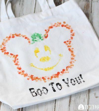 Disney Halloween Treat Bag
