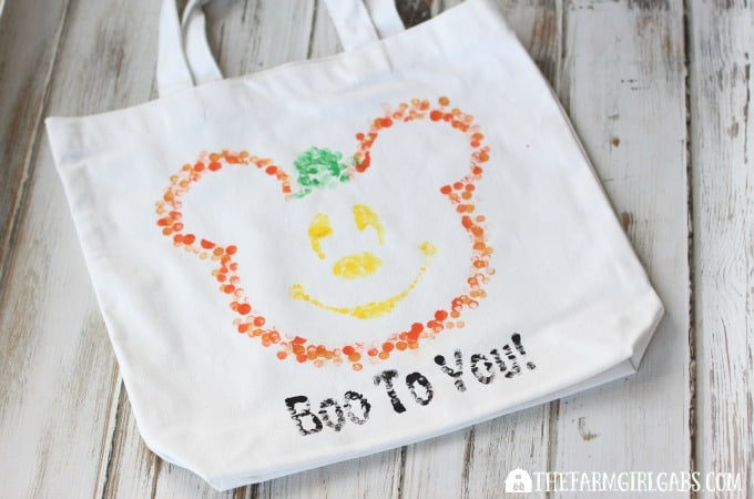 Disney Halloween Treat Bag - Feature