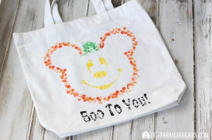 Disney Halloween Treat Bag - Feature