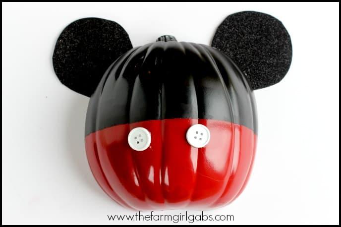 Mickey Mouse Halloween Wall Art Pumpkin - Feature