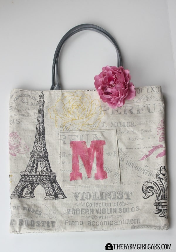 Monogrammed College Essentials Tote - Feature 3