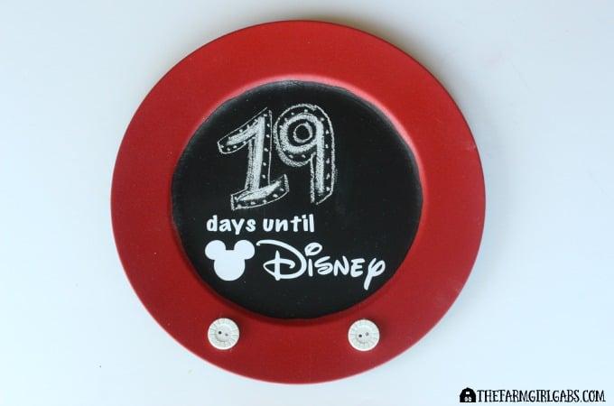 Countdown To Disney Chalkboard-Feature 1