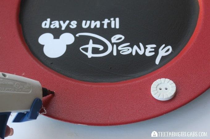 Countdown To Disney Chalkboard-Step 2