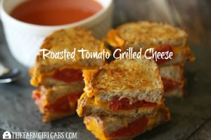 Roasted Tomato Grilled Cheese