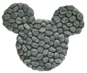 mickey stepping stone