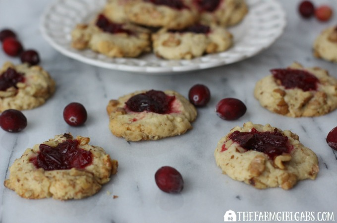 Cranberry Nut Thumbprints - feature 1
