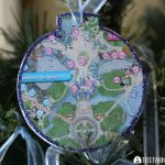 Disney Guidemap Ornaments