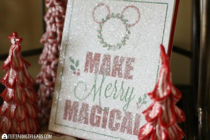 Disney Holiday Glitter Art Feature 4