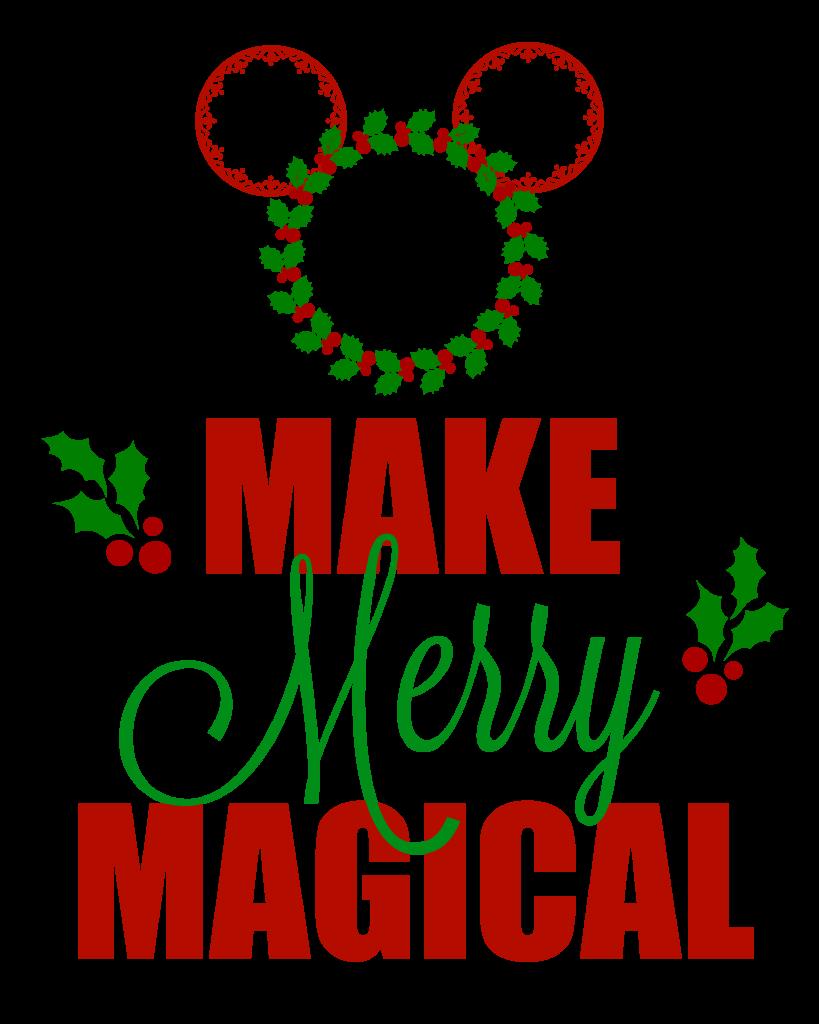Disney Make Merry Magical