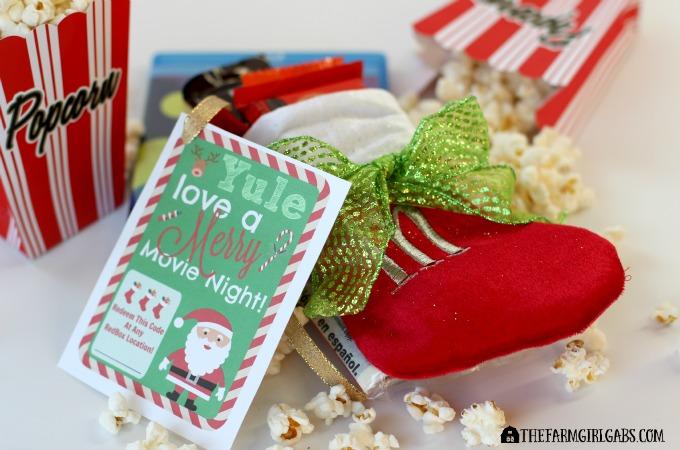 Redbox Movie Night Christmas Gift - Feature 1