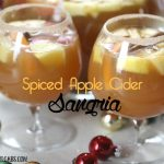 Spiced Apple Cider Sangria