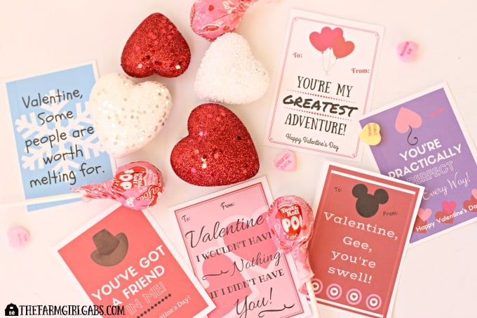 These Free Printable Disney-Inspired Valentines are perfect to print and share with your favorite Valentine. They are perfect for school parties too.