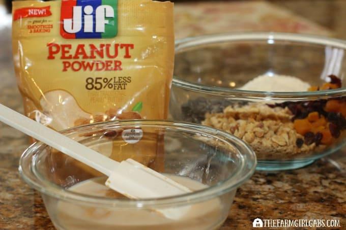 Fruit & Nut Bars - Step 1