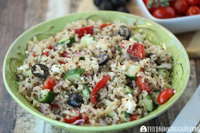 Mediterranean Rice Salad - Feature 4
