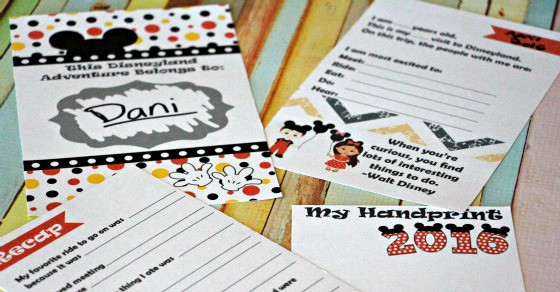 2016 The Unofficial Disneyland Activity And Autograph Book By Busy Mom's Helper