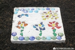 Create Your Own Mosaic Garden Stone