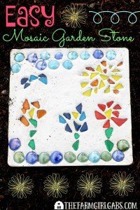 Refresh you lawn with Scotts® EZ Seed® and Create Your Own Mosaic Garden Stone to beautify your garden.