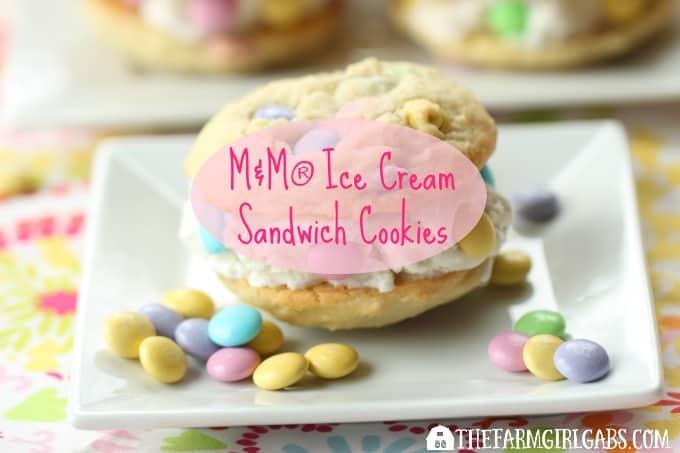 M&M® Ice Cream Sandwich Cookies