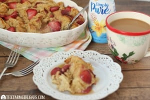 Strawberry French Toast Casserole