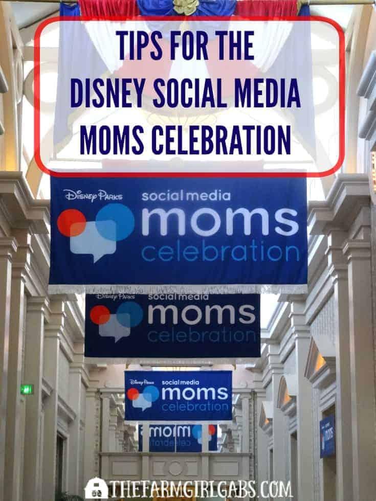 Tips for the Disney Social Media Moms Celebration