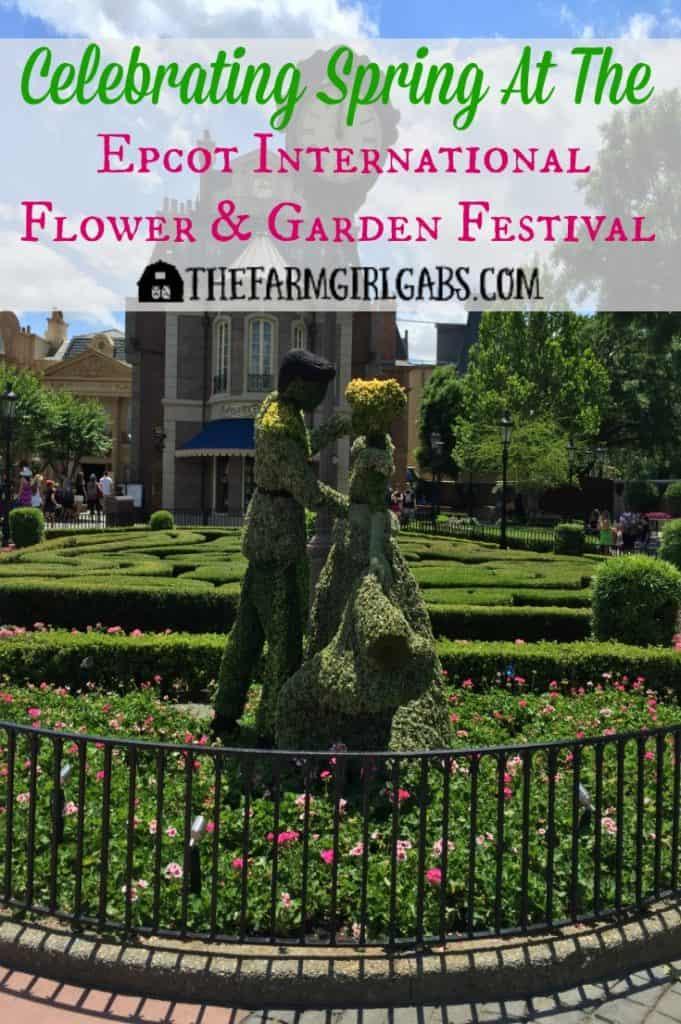 Celebrating Spring At The 2016 Epcot® International Flower & Garden Festival at Walt Disney World