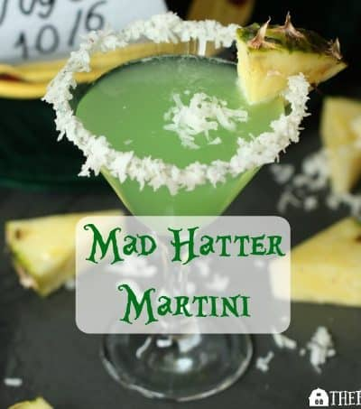 The Mad Hatter Martini