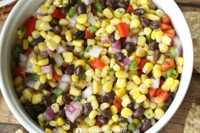 Roasted Corn & Black Bean Salsa - feature 4