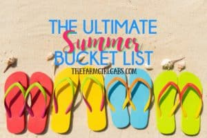 The Ultimate Summer Bucket List Printable!