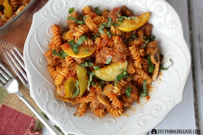 Garden Fresh Pasta Puttanesca