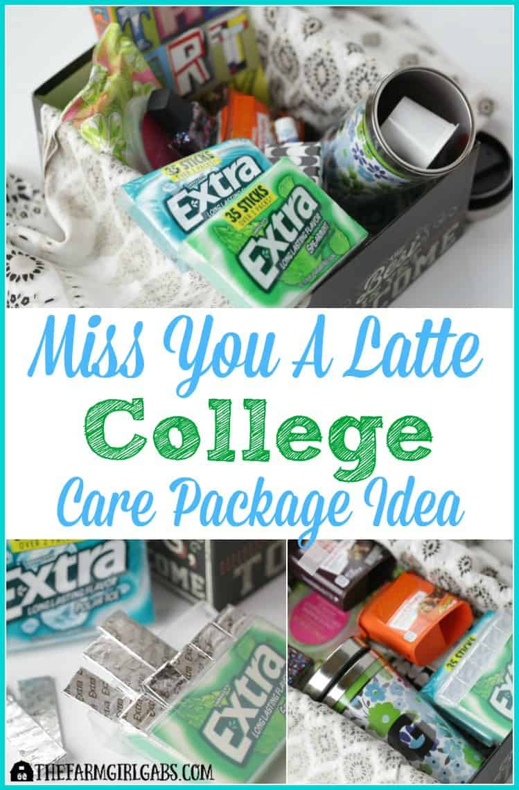 miss you a latte college care package | the farm girl gabs®