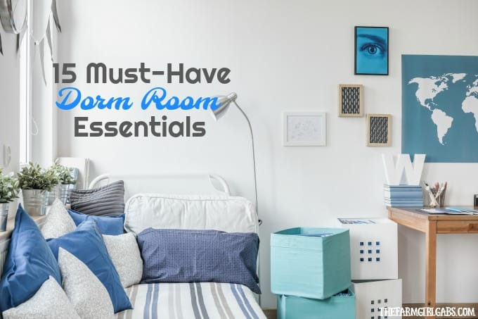 MustHave Dorm Room Essentials For College Students The Farm - Dorm room essentials