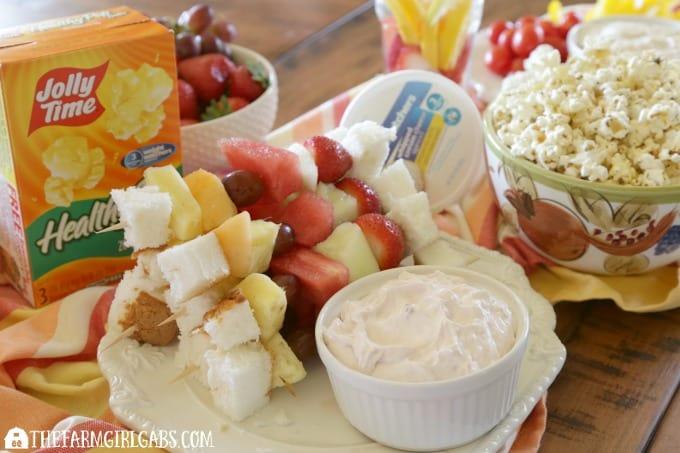 5 Healthy Party Snack Ideas