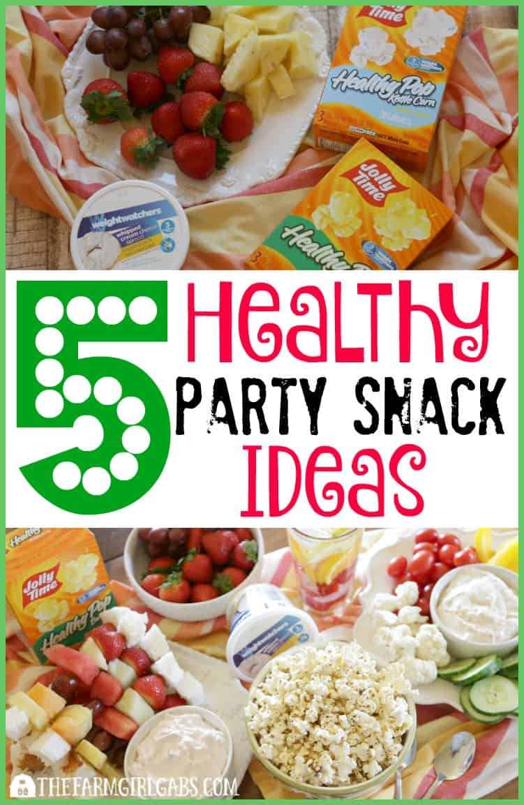 5 Healthy Party Snack Ideas to serve your guests at your next gathering. #WWFoodsAtShopRite #Ad #PMedia