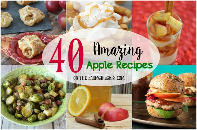 40 Amazing Apple Recipes To Celebrate Fall!