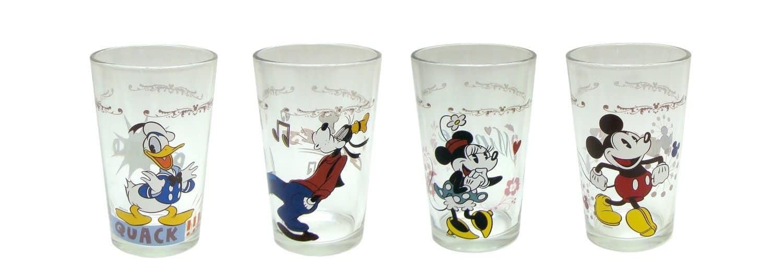 Disney Juice Glasses