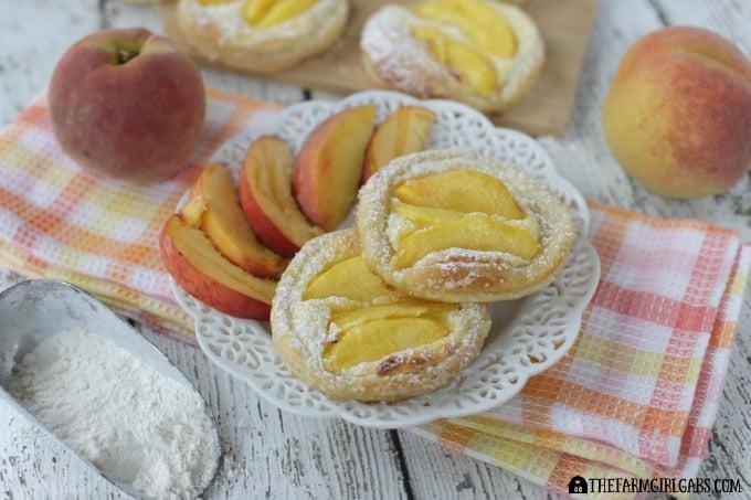 Peach Breakfast Danish