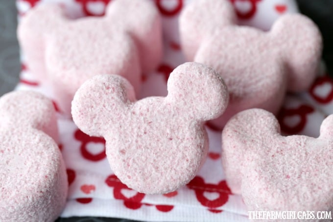 These Mickey Bath Bombs are the perfect way to relax, unwind and think about your next trip to Walt Disney World.