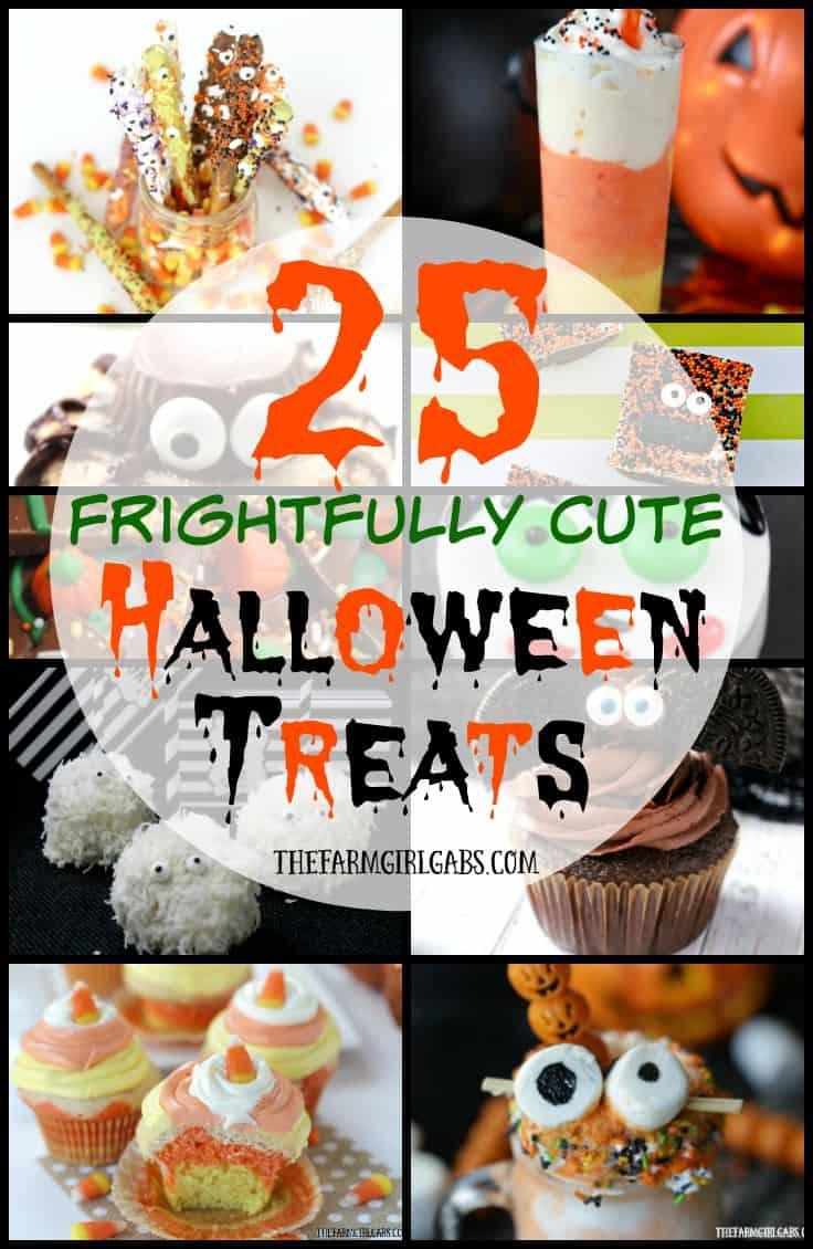 Candy Corn Cupcakes Plus 25 Frightfully Cute Halloween Treats