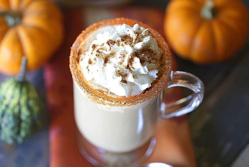 The Drunken Spiked Pumpkin Spice Latte