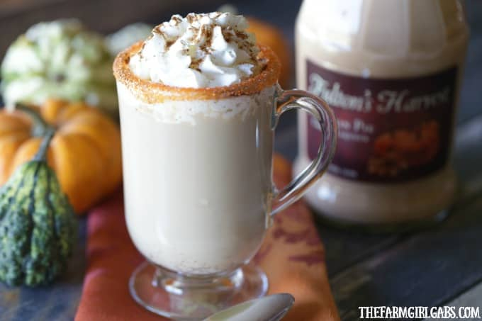 Raise a mug to this delicious Drunken Pumpkin Spice Latte. This simple spiked coffee recipe is the perfect adult fall drink.