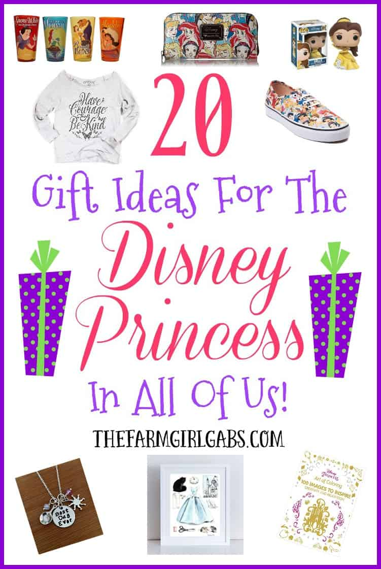 Searching for the perfect gift idea for your Disney Princess. She will love these 20 Gift Ideas For Disney Princess Fans!