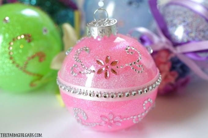 Disney Princess Glitter Ornament - Sleeping Beauty
