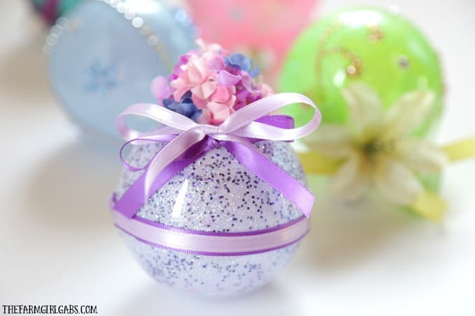 Disney Princess Glitter Ornament - Rapunzel